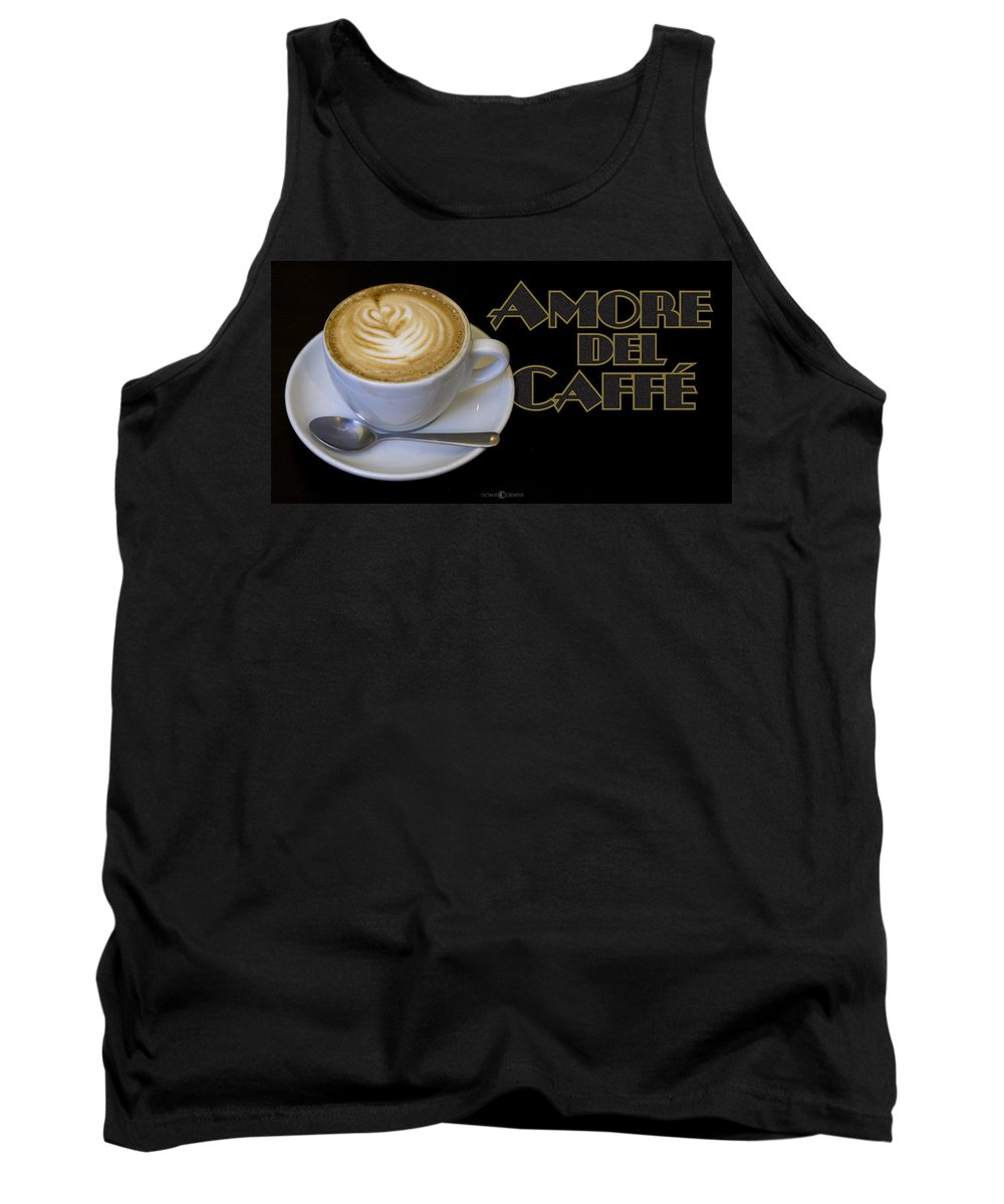 Coffee Tank Top featuring the photograph Amore Del Caffe Poster by Tim Nyberg