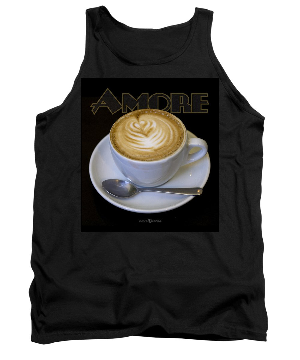 Coffee Tank Top featuring the photograph Amore Poster by Tim Nyberg