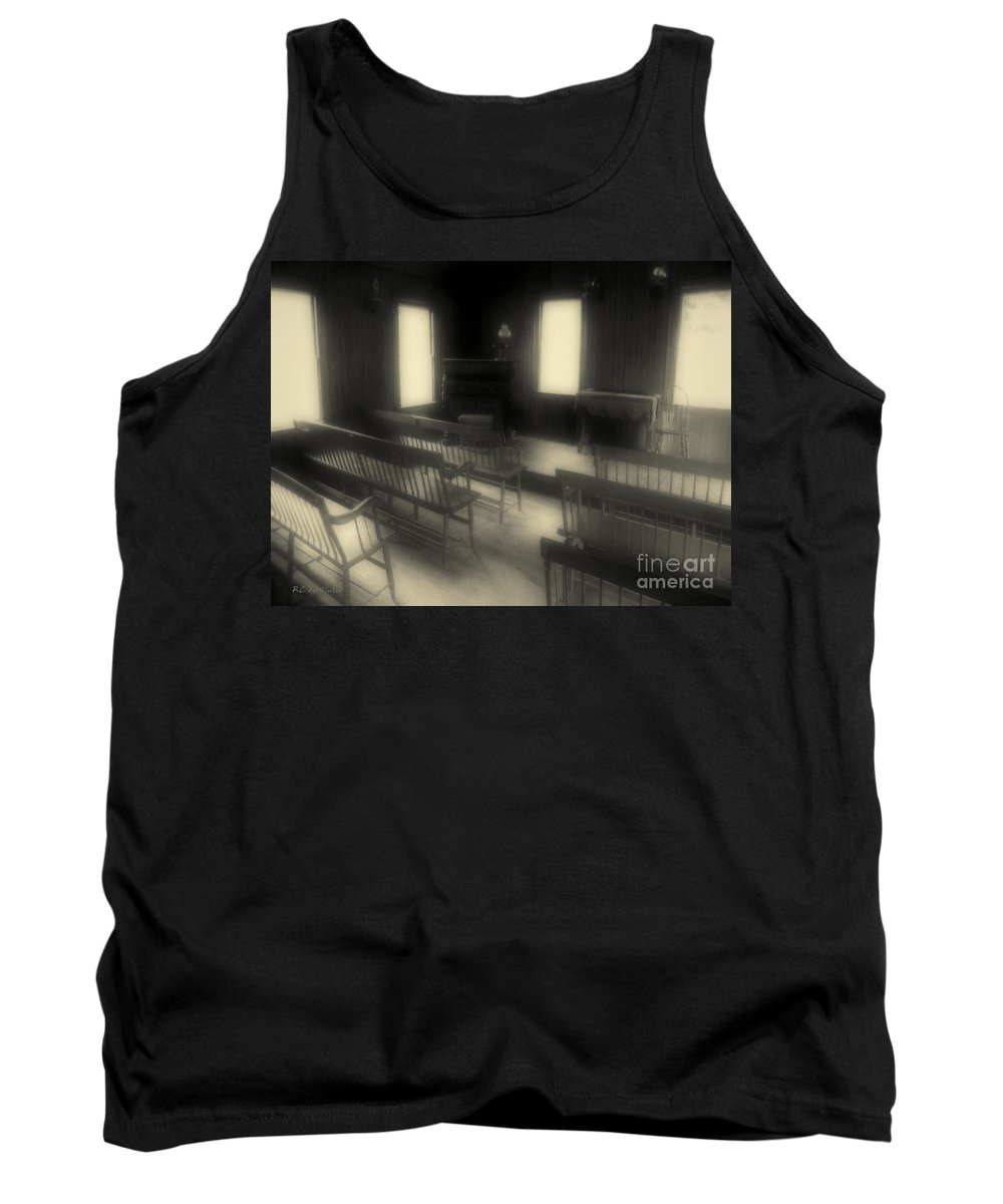 Benches Tank Top featuring the photograph Ancestor Worship by RC DeWinter