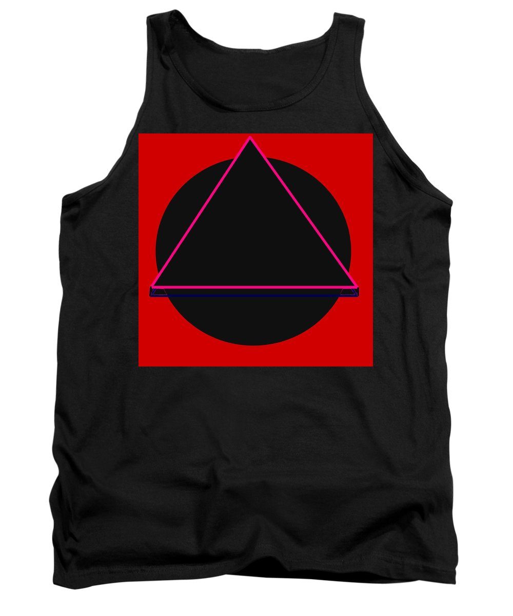 Social Justice Art Tank Top featuring the digital art And It Flowed by Pharris Art