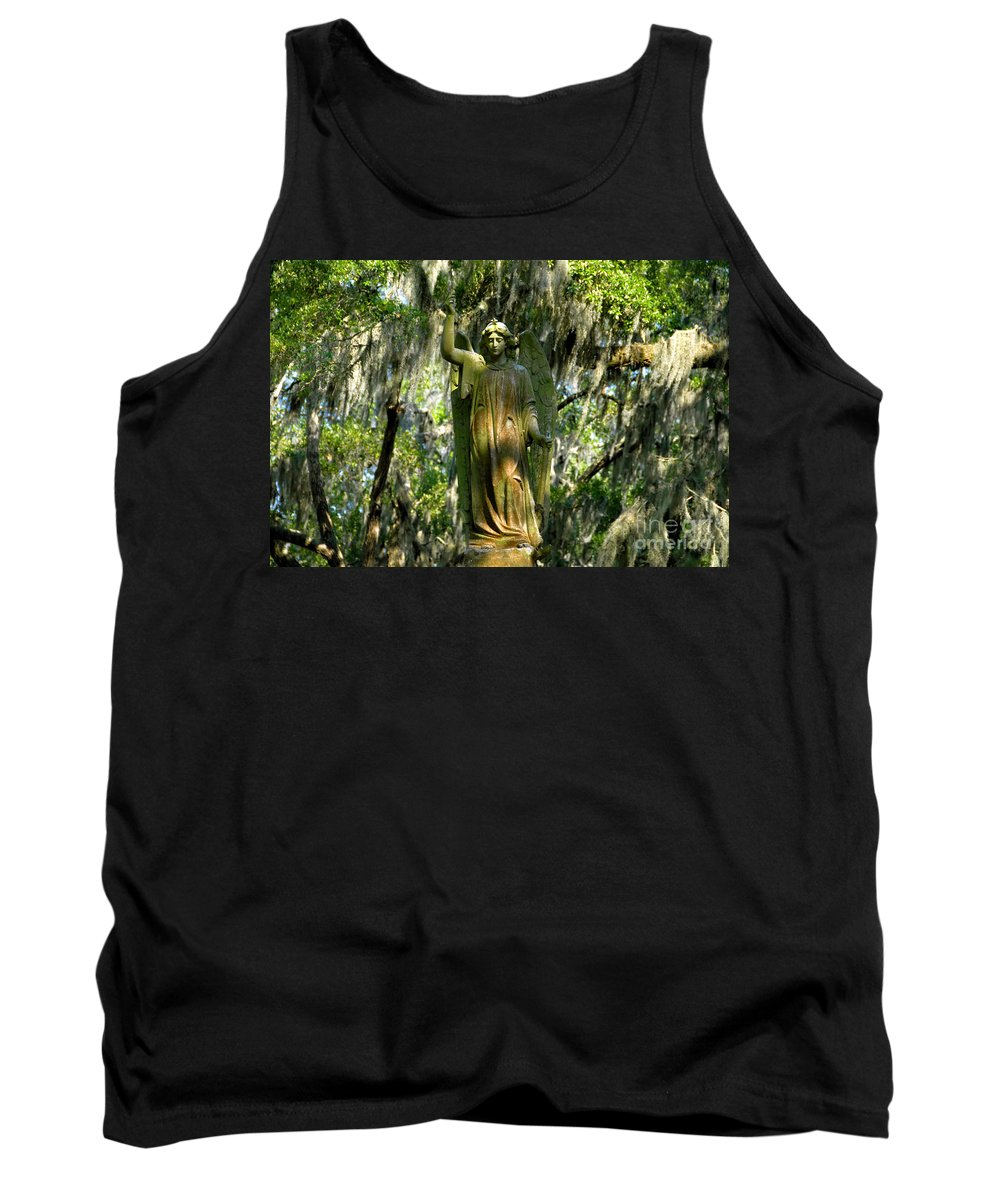Savanna Georgia Tank Top featuring the photograph Angel Of Savanna by David Lee Thompson