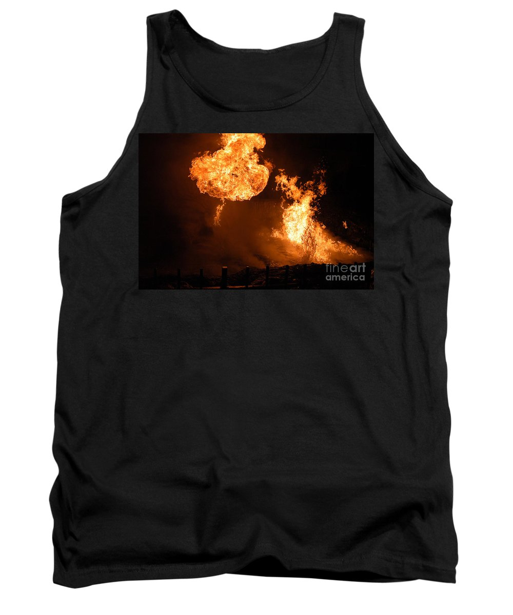 Clay Tank Top featuring the photograph Angry Face by Clayton Bruster