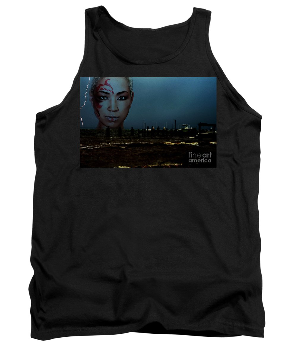 Clay Tank Top featuring the photograph Angry Sea by Clayton Bruster