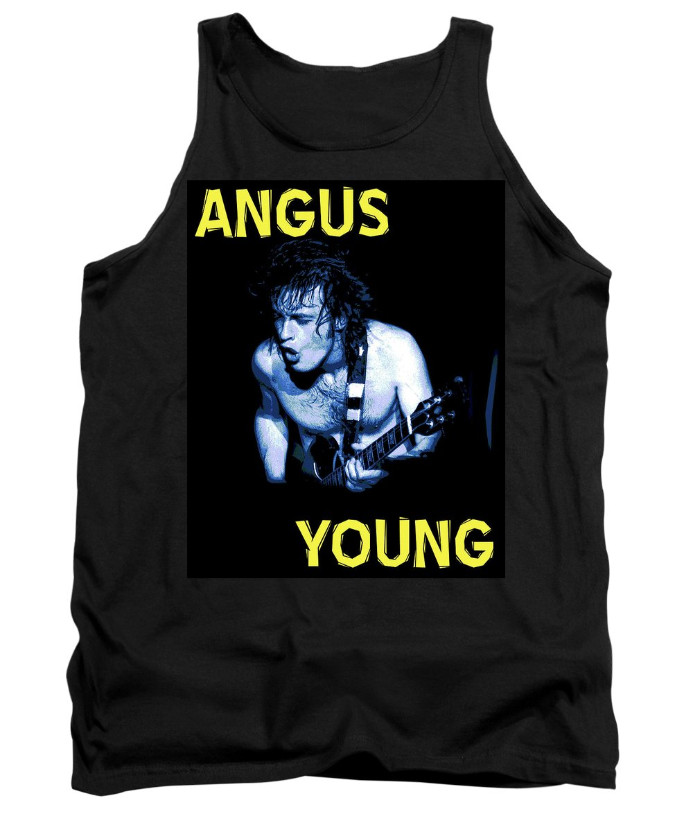 Ac Dc Tank Top featuring the photograph Angus Rocks Spokane 2 by Ben Upham