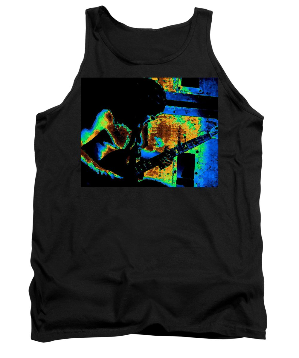 Ac Dc Tank Top featuring the photograph Angusart 1 by Ben Upham