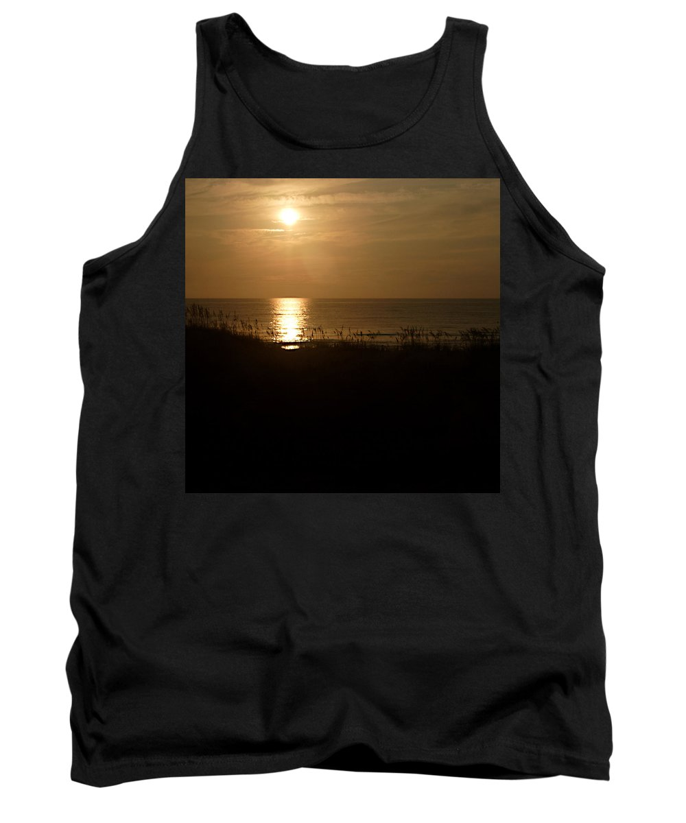 Color Tank Top featuring the photograph Another Day Ends by Jean Macaluso