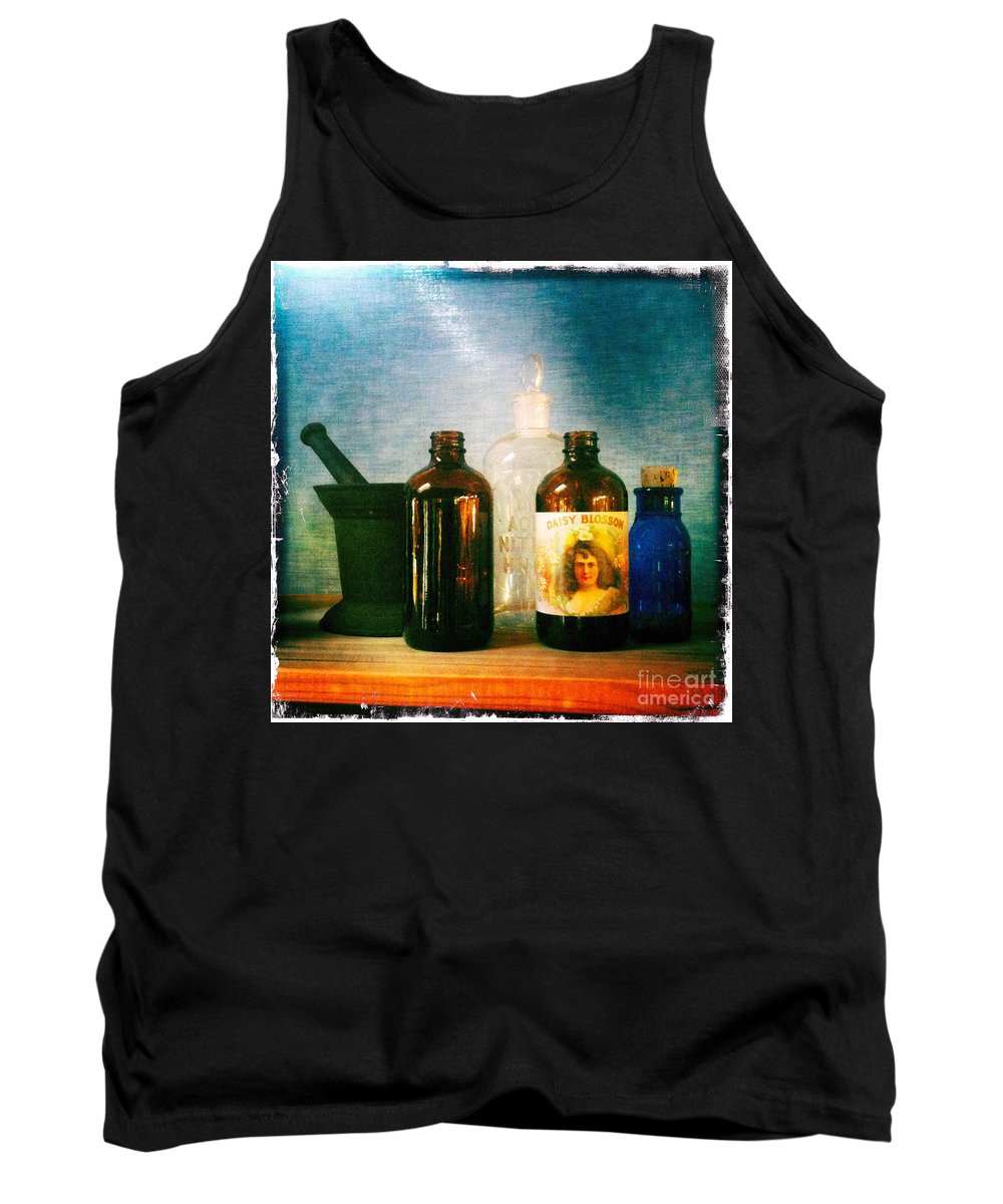 Antique Tank Top featuring the photograph Antique Comforts by Matt Suess