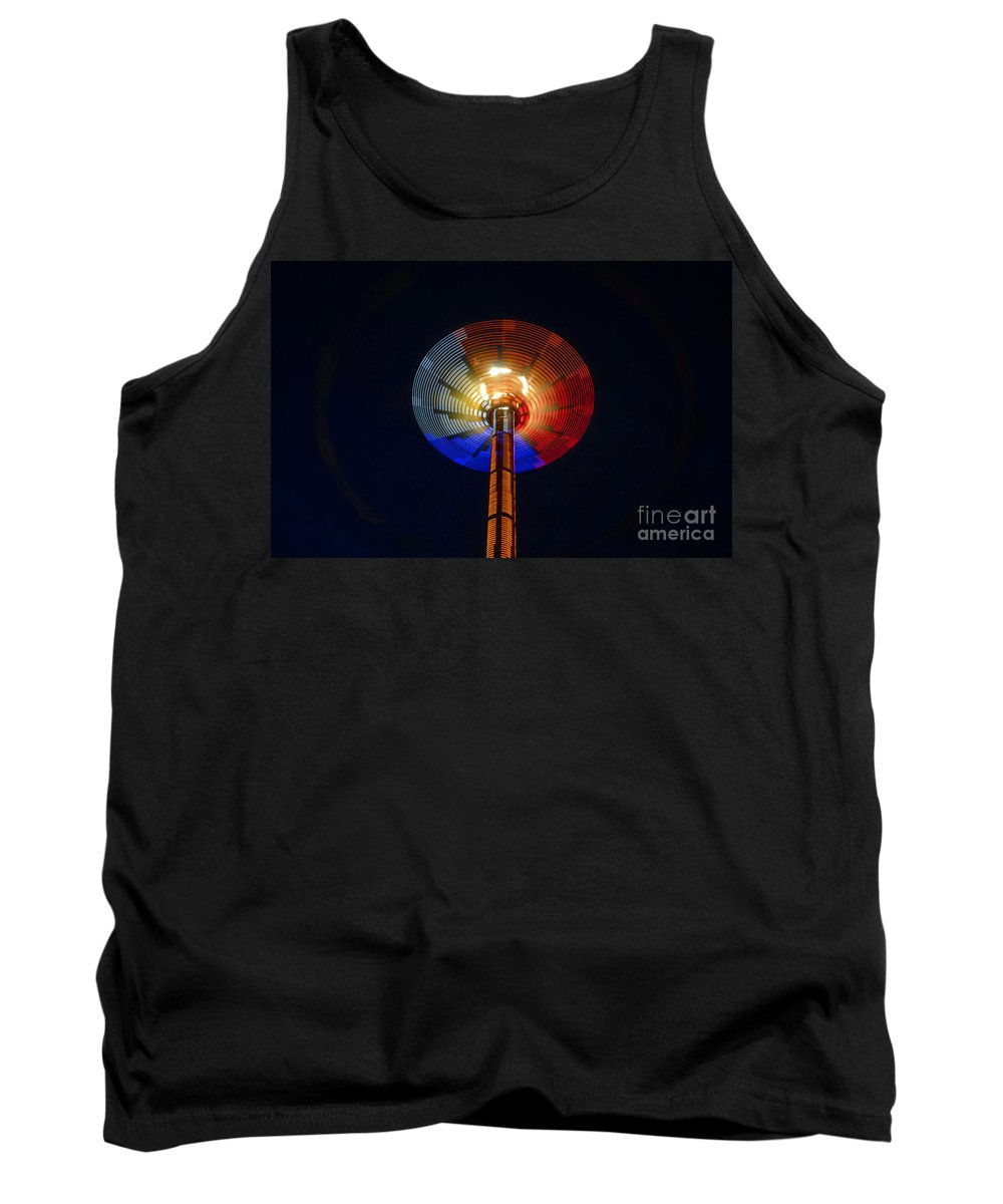 Modern Tank Top featuring the photograph Area 51 by David Lee Thompson