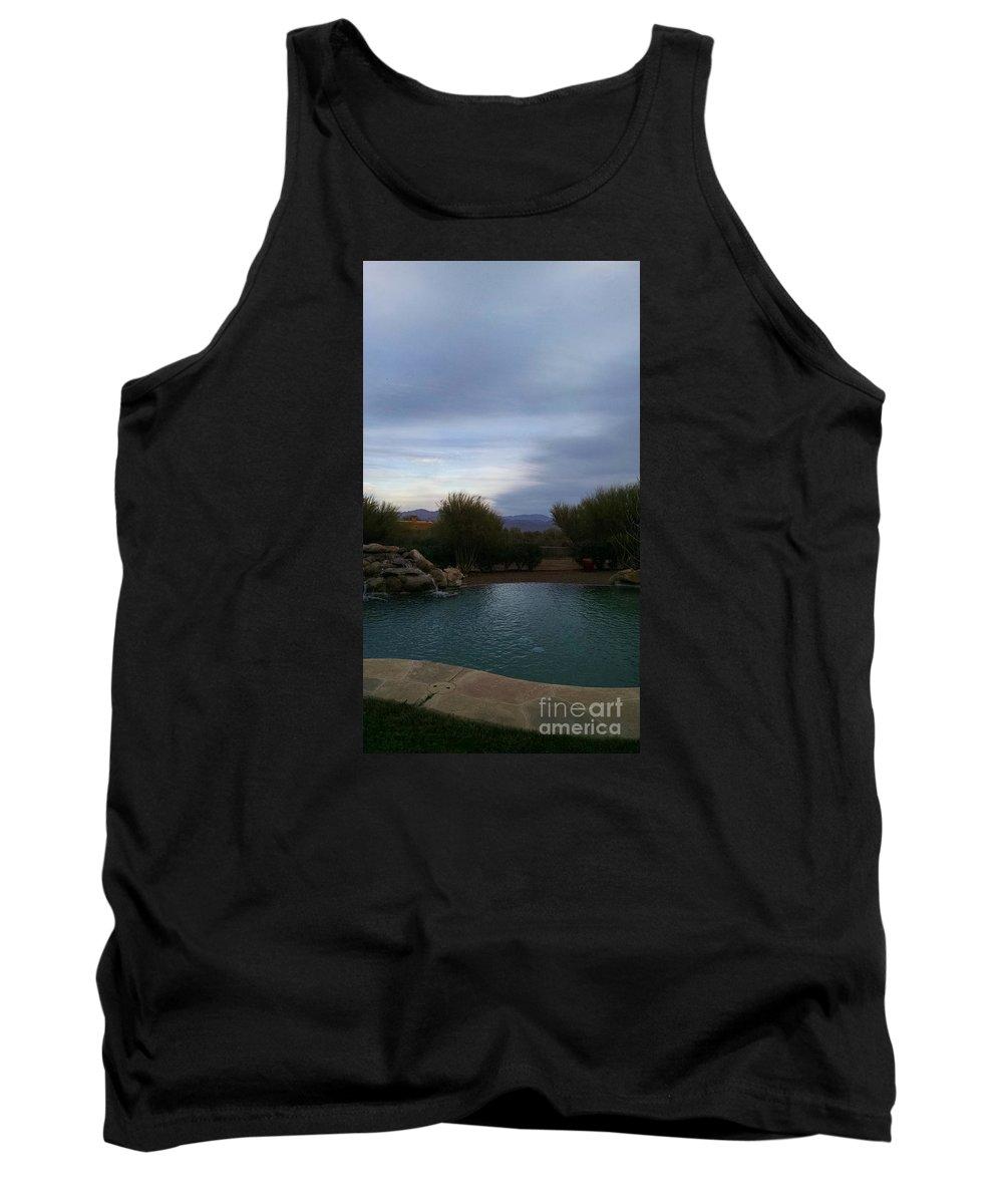 Arizona Evening Tank Top featuring the photograph Arizona Evening by Stephanie Forrer-Harbridge