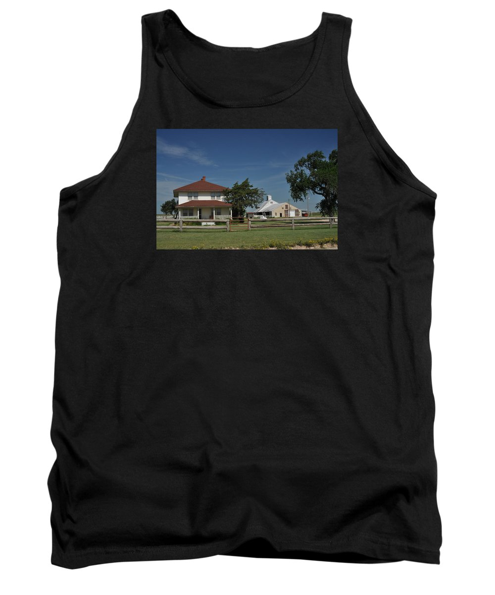 Cast Away Tank Top featuring the photograph Cast Away Movie Location by Ronnie Gilbert