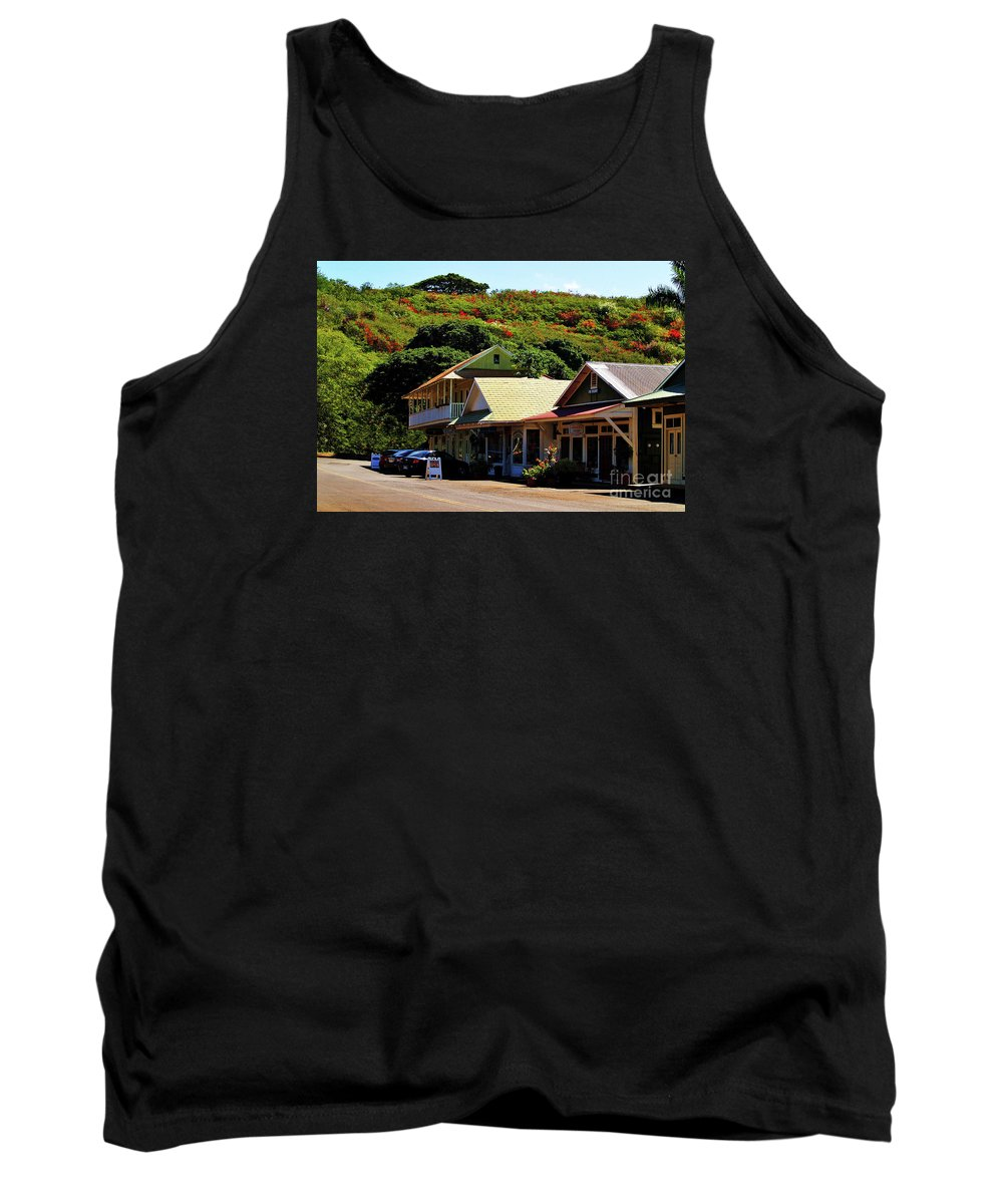 Hanapepe Tank Top featuring the photograph Art In Hanapepe by Patricia Griffin Brett