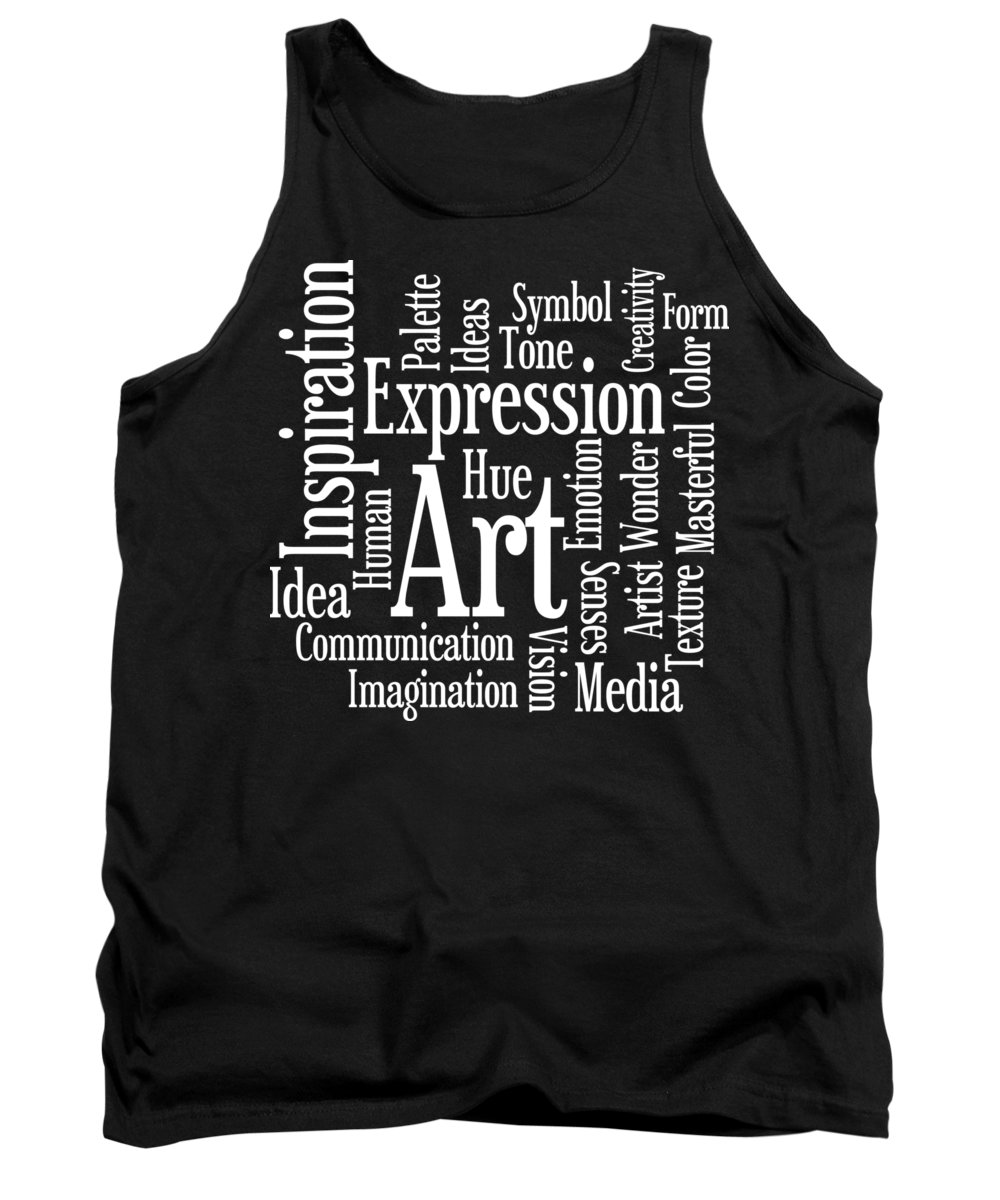 Art Tank Top featuring the digital art Artistic Inspiration by Antique Images