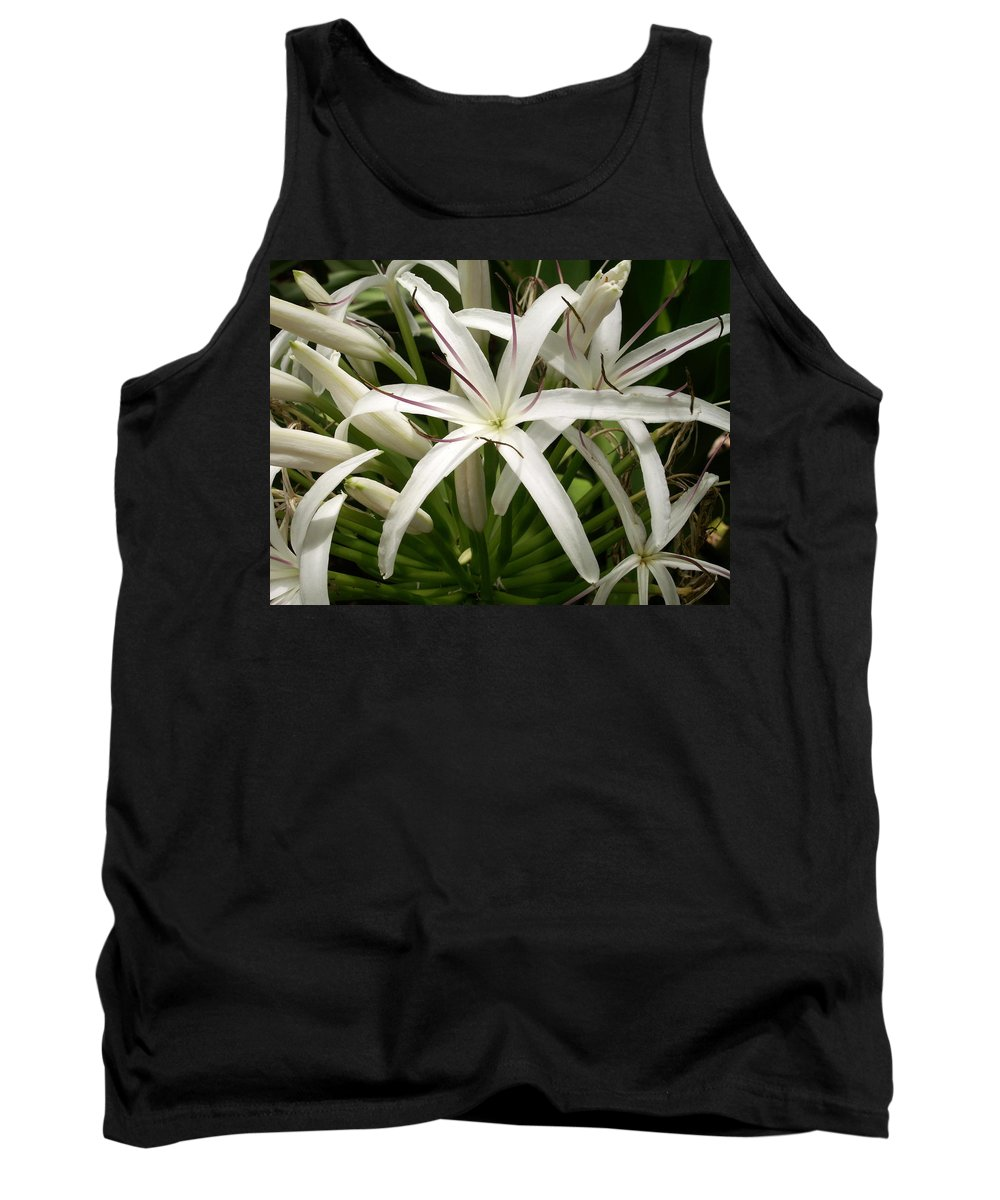 Flower Tank Top featuring the photograph Asiatic Poison Lily by Amy Fose