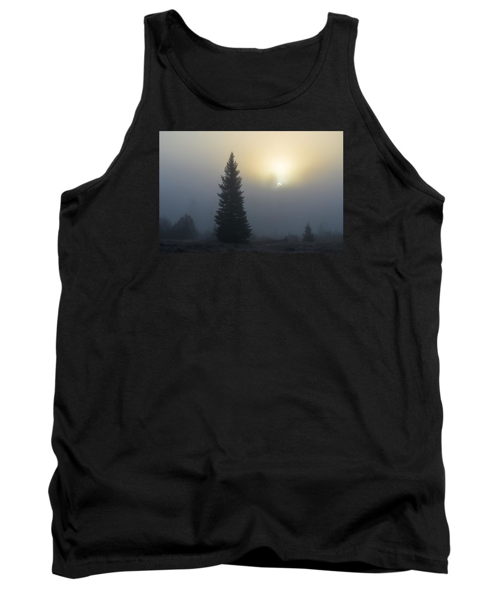 Mist Tank Top featuring the photograph Autumn Mist by Whispering Peaks Photography