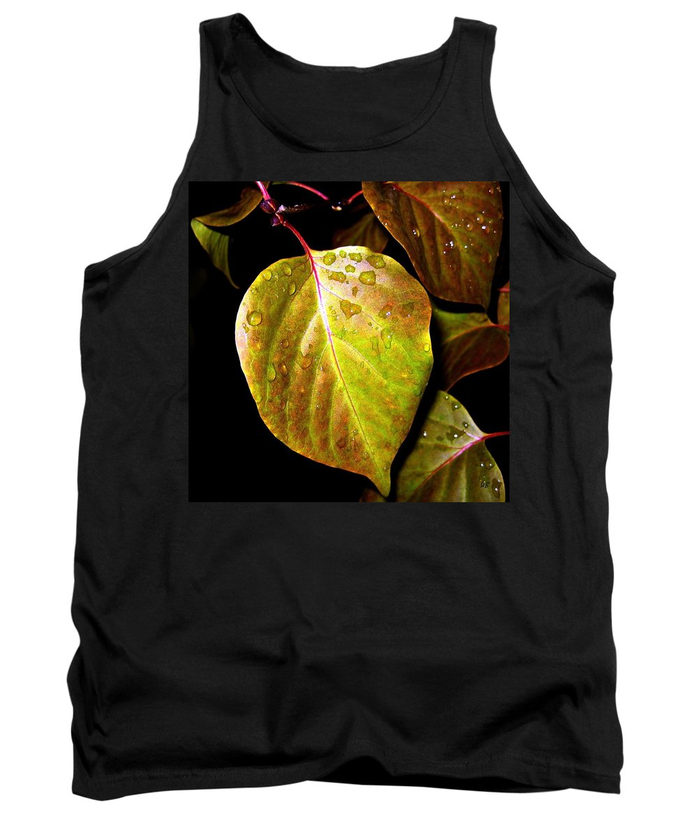 Autumn Tank Top featuring the photograph Autumn Rain by Will Borden
