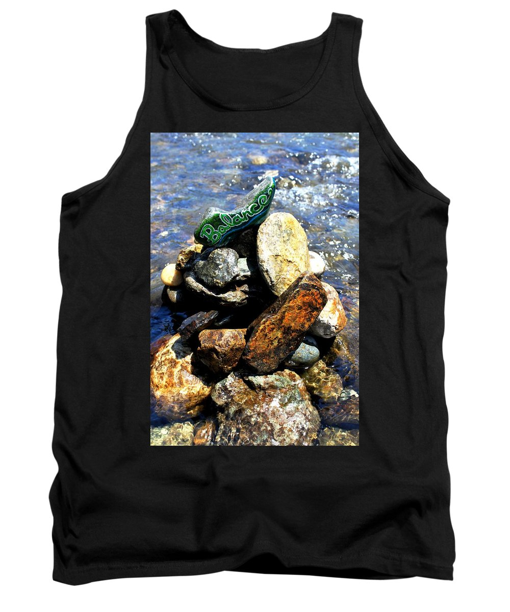 Tank Top featuring the photograph Balance by Kathy Partak