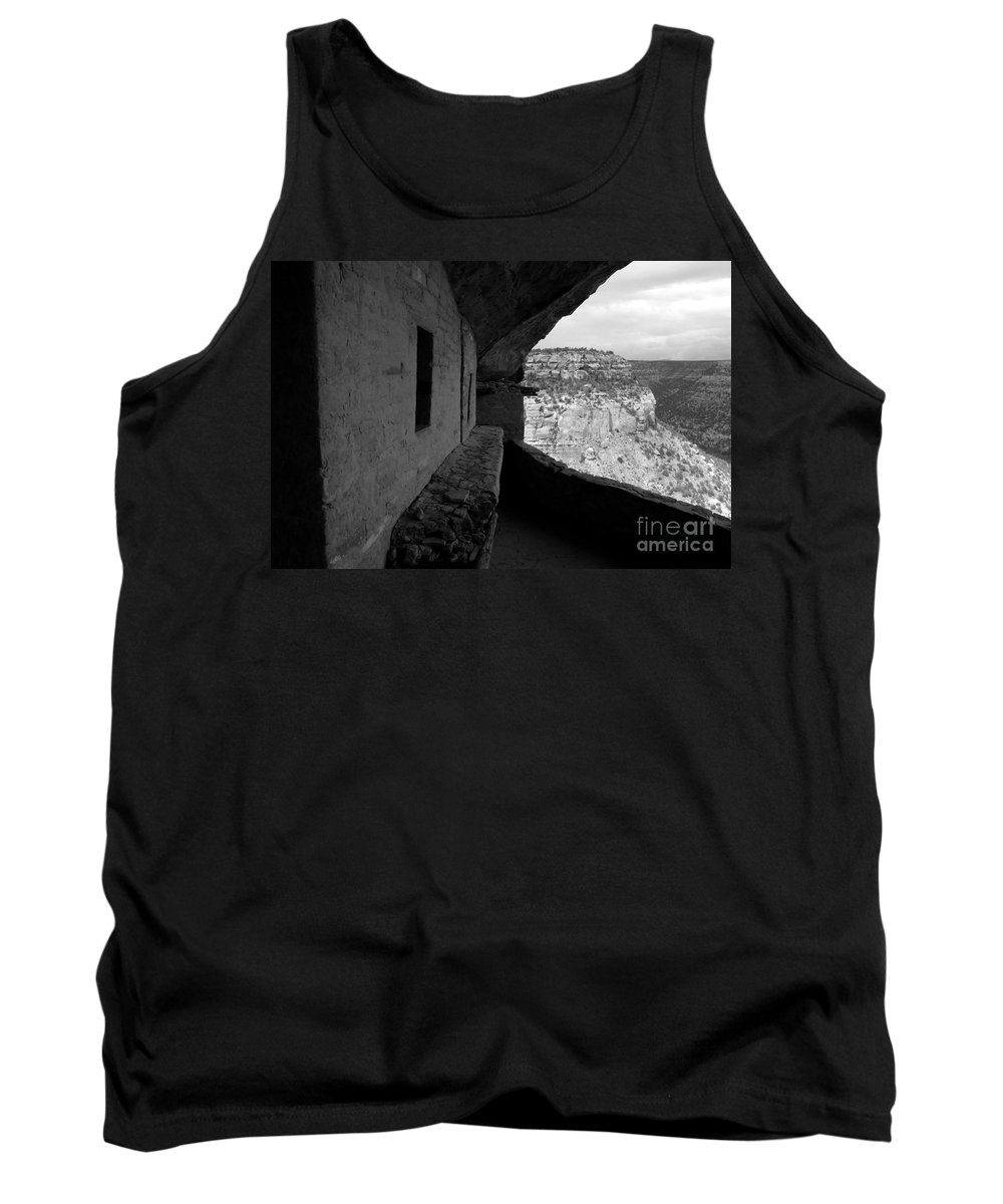 Balcony House Tank Top featuring the photograph Balcony House by David Lee Thompson