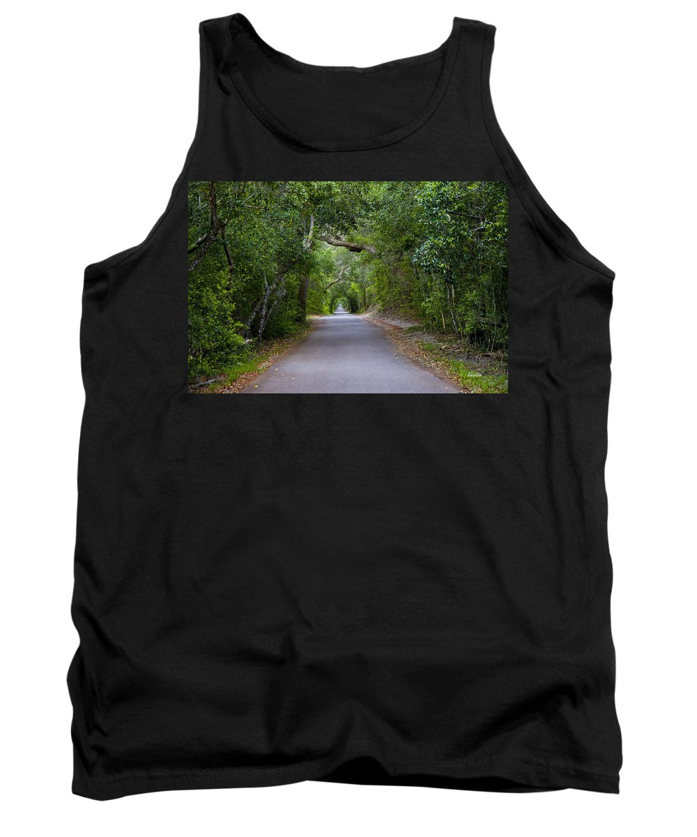 Bald Head Island Tank Top featuring the photograph Bald Head Island Study 5 by Betsy Knapp