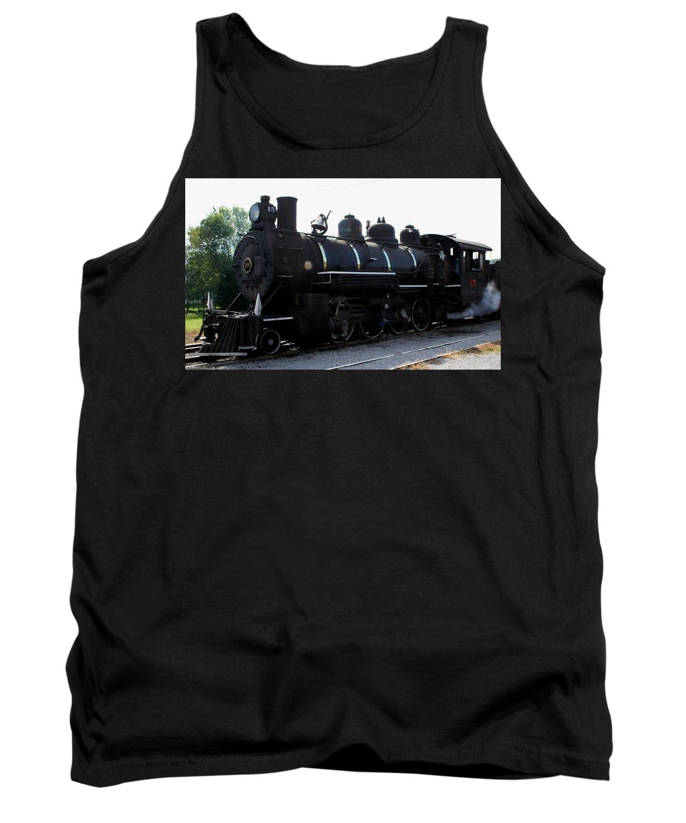 Railroad Tank Top featuring the photograph Baldwin Locomotive by Rebecca Smith