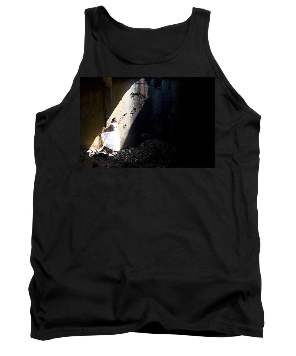 Ballet Dancer Tank Top featuring the photograph Ballet Dancer4 by George Cabig
