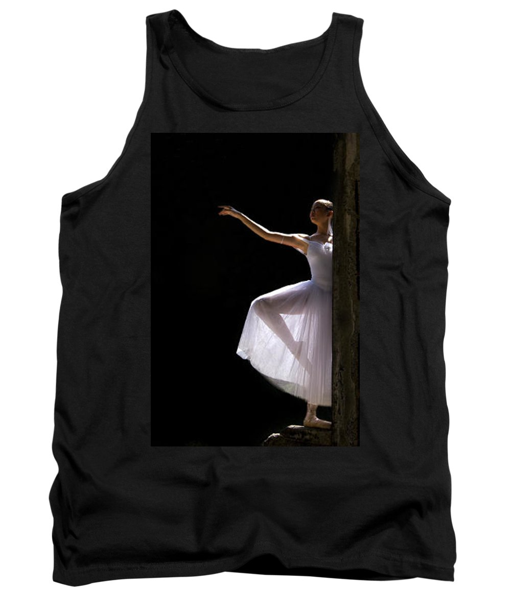 Ballet Dancer Tank Top featuring the photograph Ballet Dancer6 by George Cabig