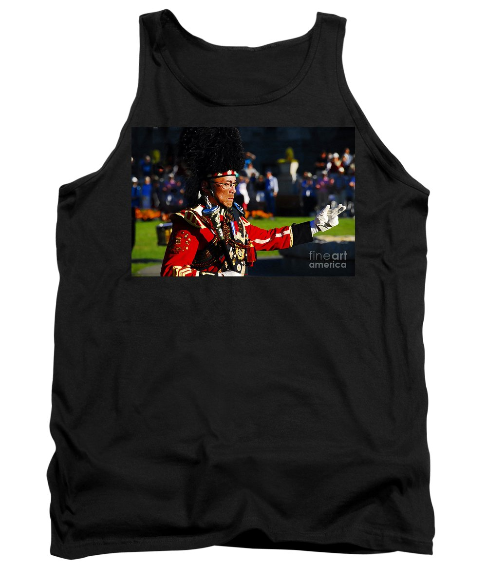 Band Leader Tank Top featuring the photograph Band Leader by David Lee Thompson