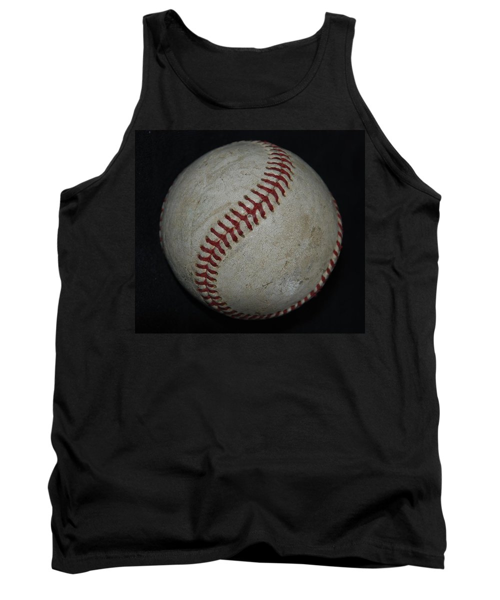 Pop Art Tank Top featuring the photograph Baseball by Rob Hans