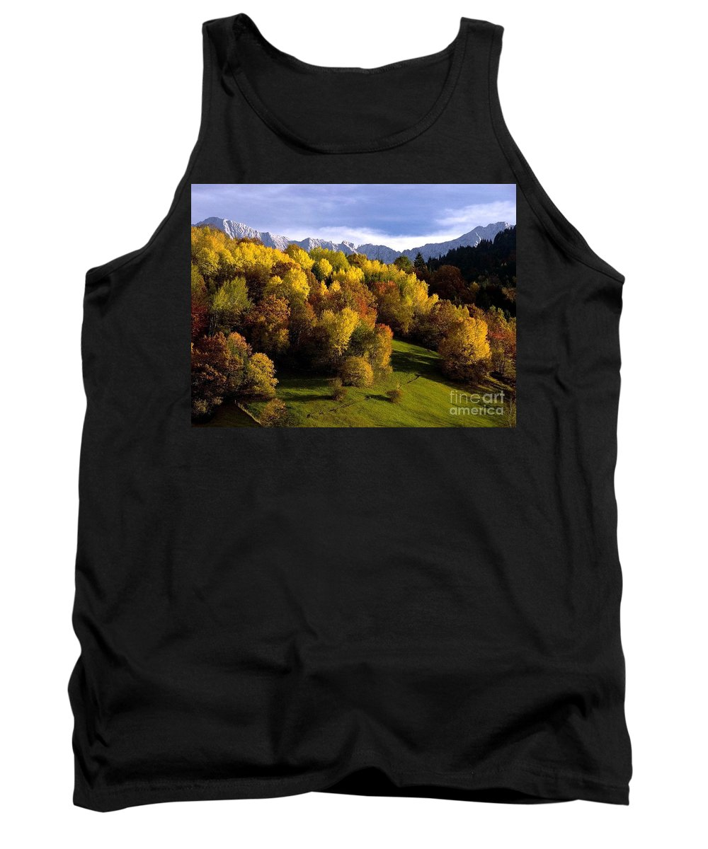 Mountains Tank Top featuring the photograph Bavarian Alps 2 by Randy Matthews