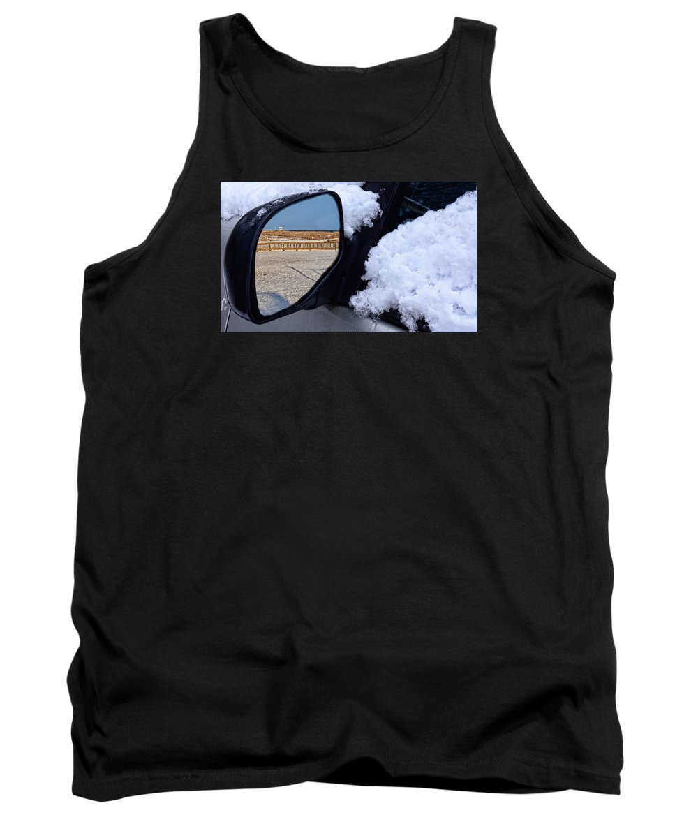 Beach Tank Top featuring the photograph Beach Reflections by Thaddeus Wilkins