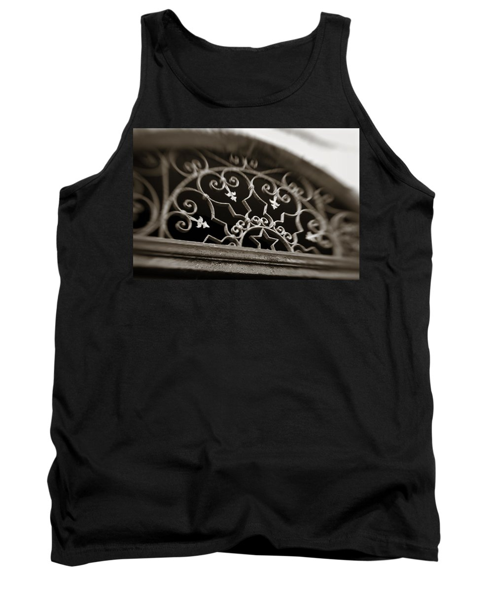 Beautiful Tank Top featuring the photograph Beautiful Door Decoration by Marilyn Hunt