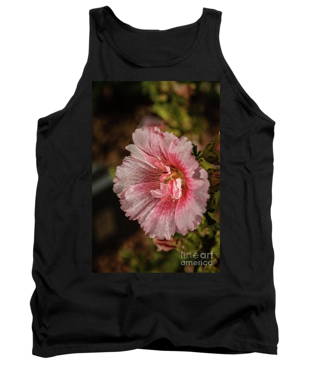 Alcea Rosea Tank Top featuring the photograph Beautiful Hollyhock by Robert Bales