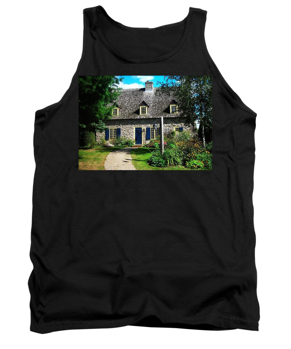 North America Tank Top featuring the photograph Beautiful Home ... by Juergen Weiss