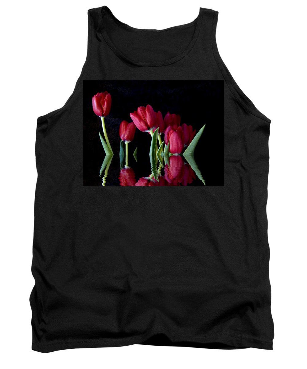 New England Photos Tank Top featuring the photograph Beautiful Reflection by Nancie DeMellia