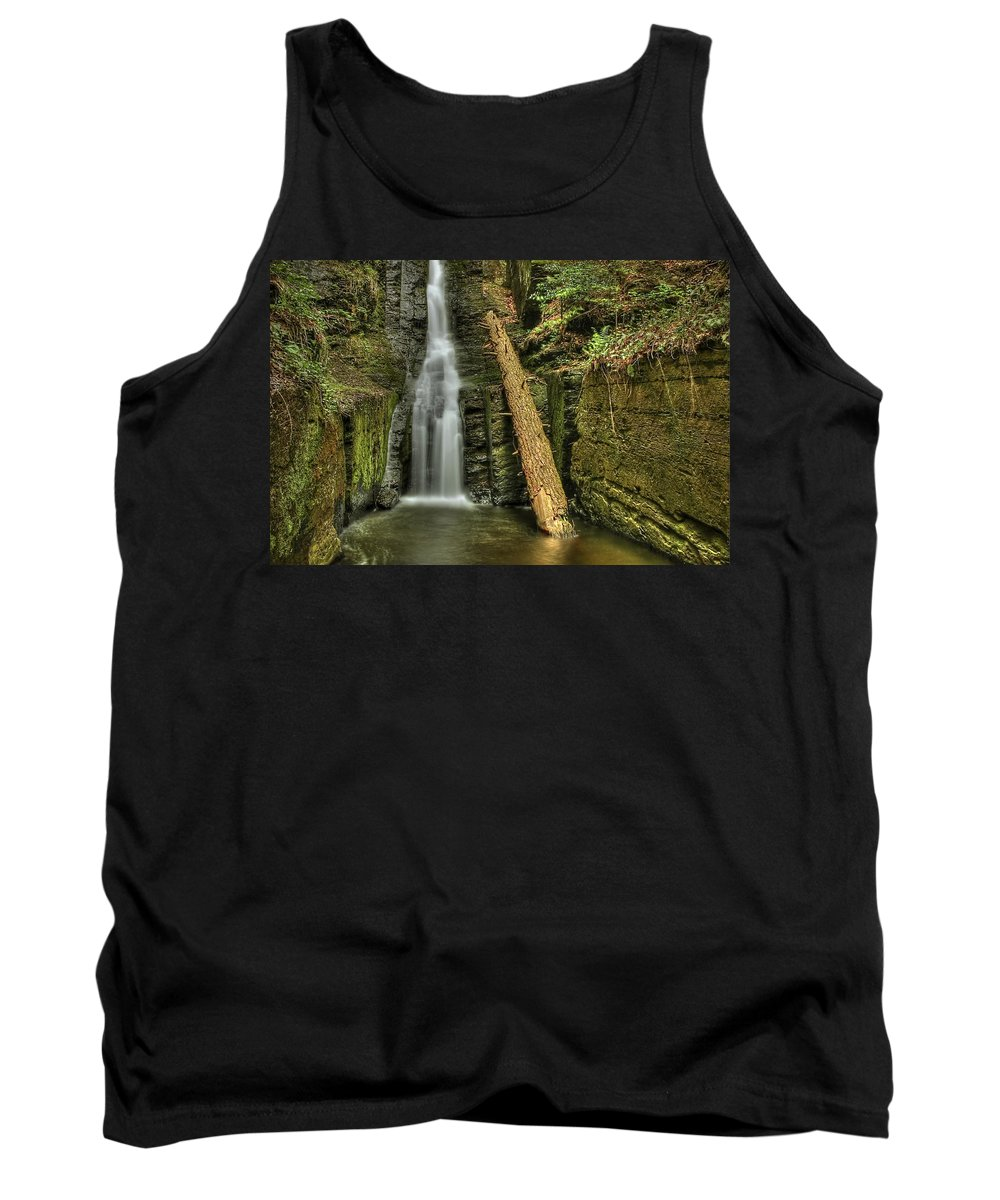 Beautiful Tank Top featuring the photograph Beautifully Confined by Evelina Kremsdorf