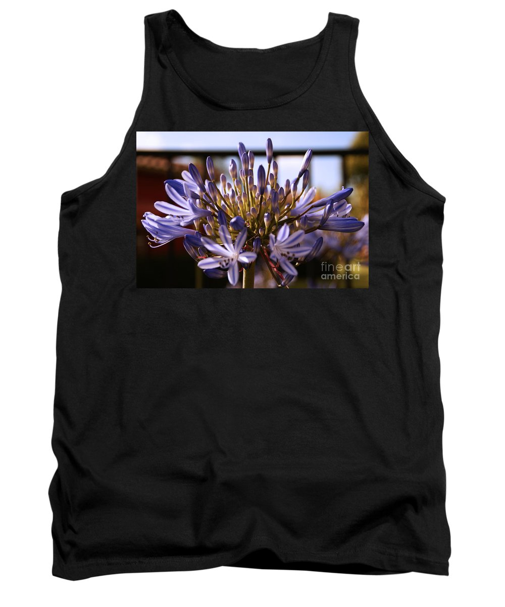 Floral Tank Top featuring the photograph Becoming Beautiful by Linda Shafer