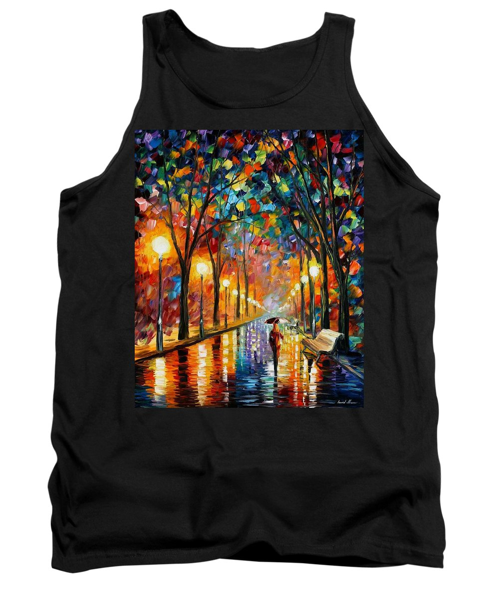 Afremov Tank Top featuring the painting Before The Celebration by Leonid Afremov