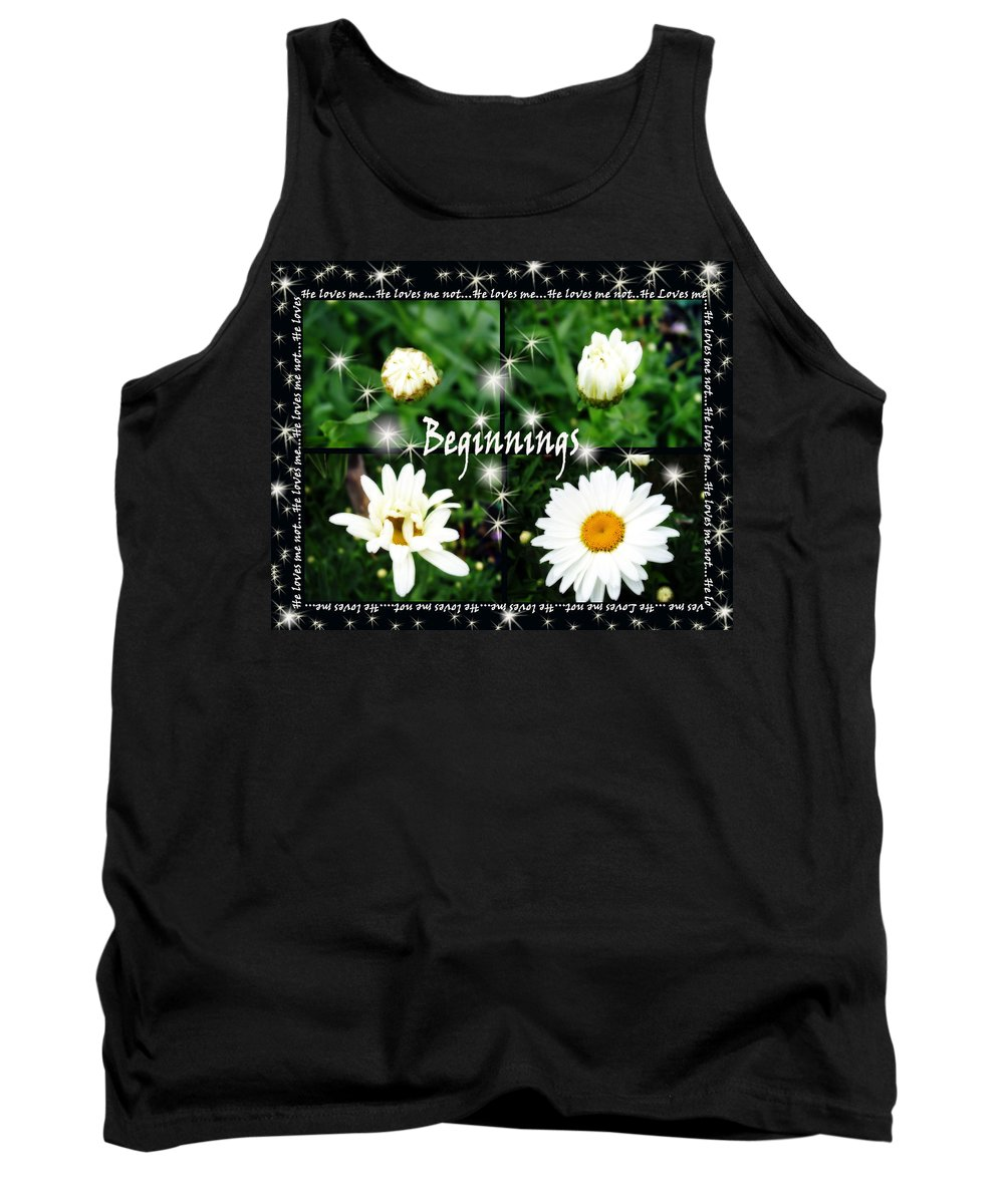 Beginnings Tank Top featuring the photograph Beginnings by Cathy Beharriell