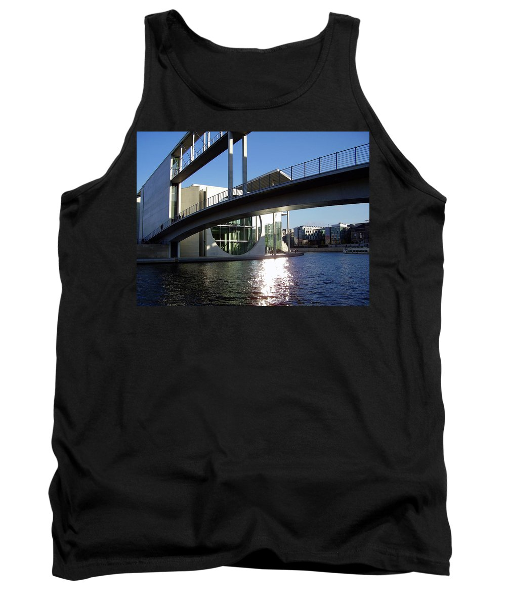 Marie-elisabeth-lueders Tank Top featuring the photograph Berlin by Flavia Westerwelle
