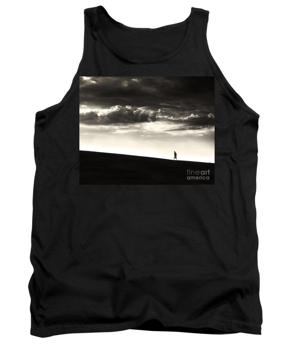 Man Tank Top featuring the photograph Between Living And Dying by Dana DiPasquale