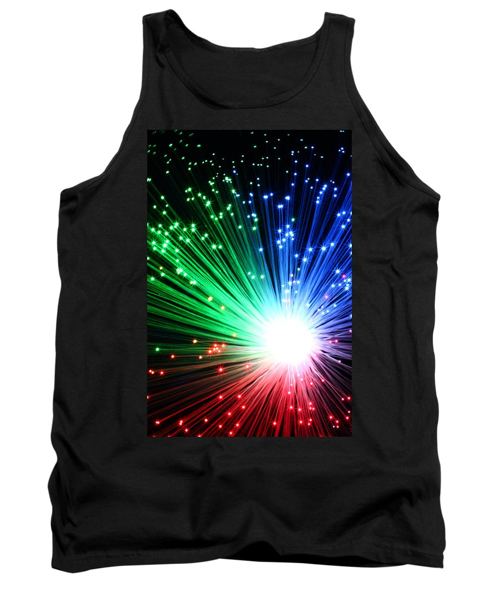 Blast Tank Top featuring the photograph Big Boom II by Daniel Csoka