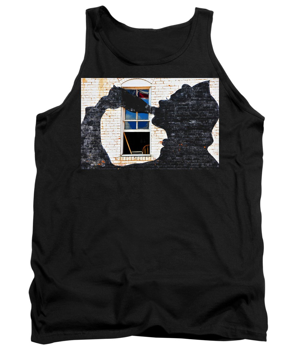 Photography Tank Top featuring the photograph Black Betty by Skip Hunt