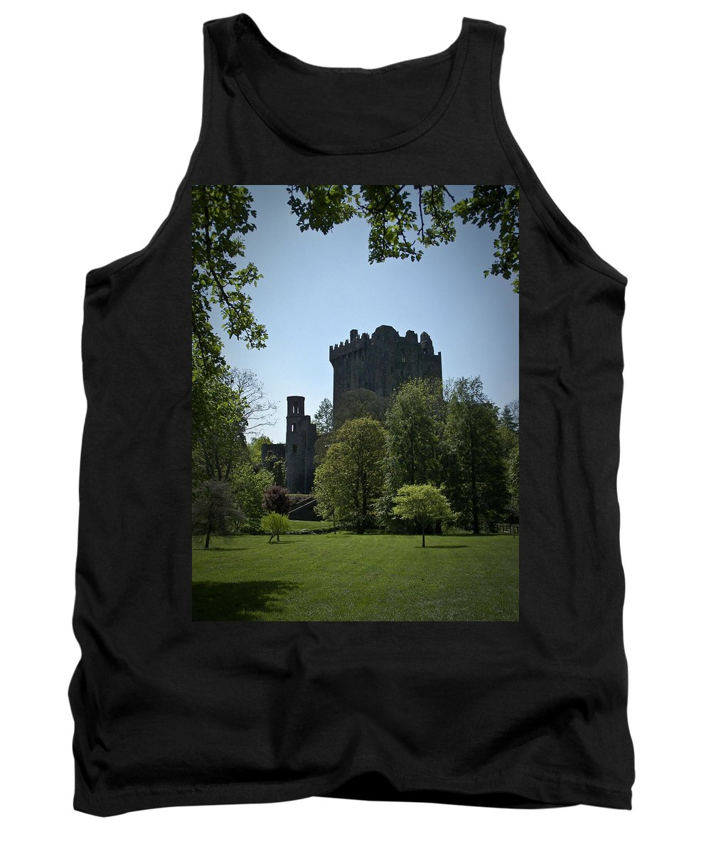 Irish Tank Top featuring the photograph Blarney Castle Ireland by Teresa Mucha