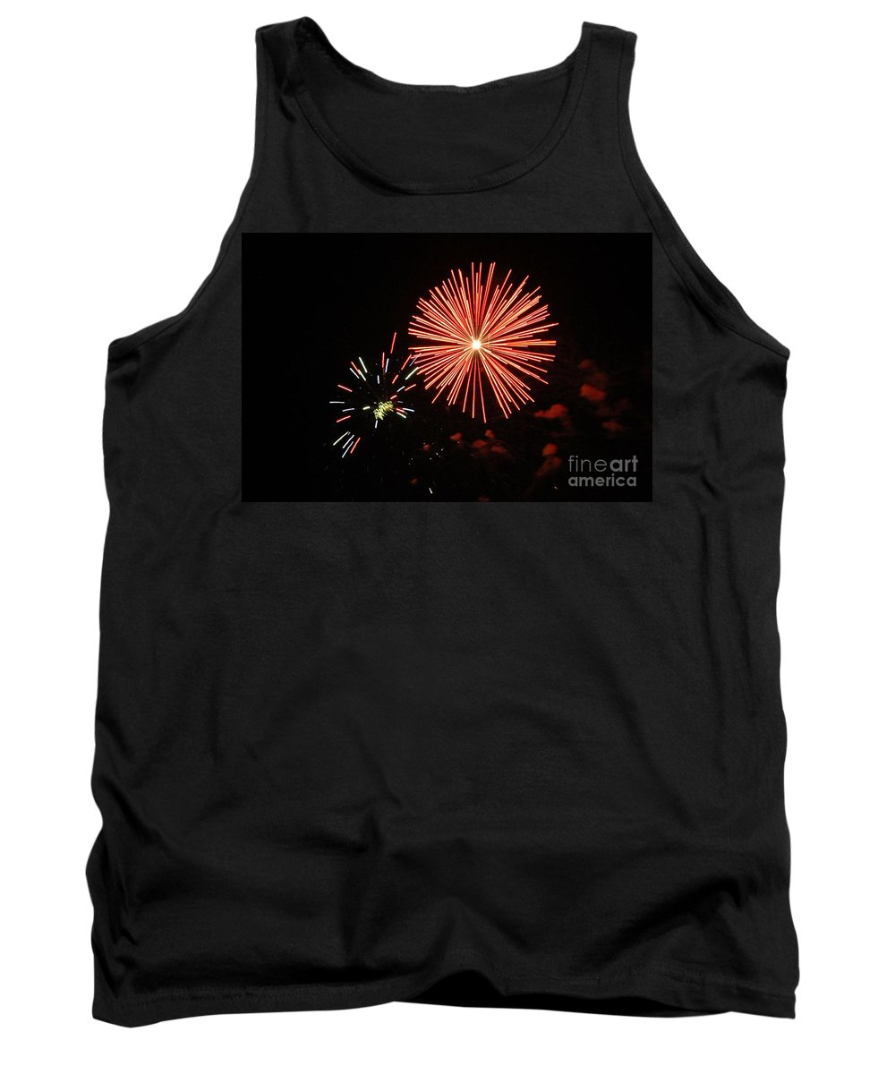 California Scenes Tank Top featuring the photograph Blast And A Half by Norman Andrus