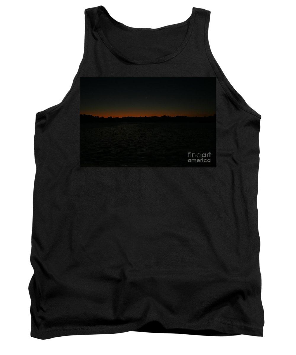 Sunset Tank Top featuring the photograph Blazing by Jamie Lynn