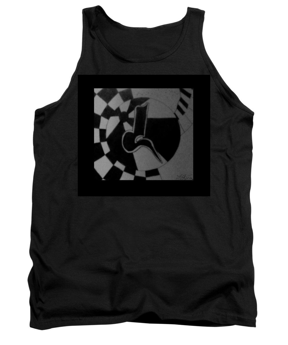 Abstract Tank Top featuring the photograph Blondeass Sunshine by Rob Hans