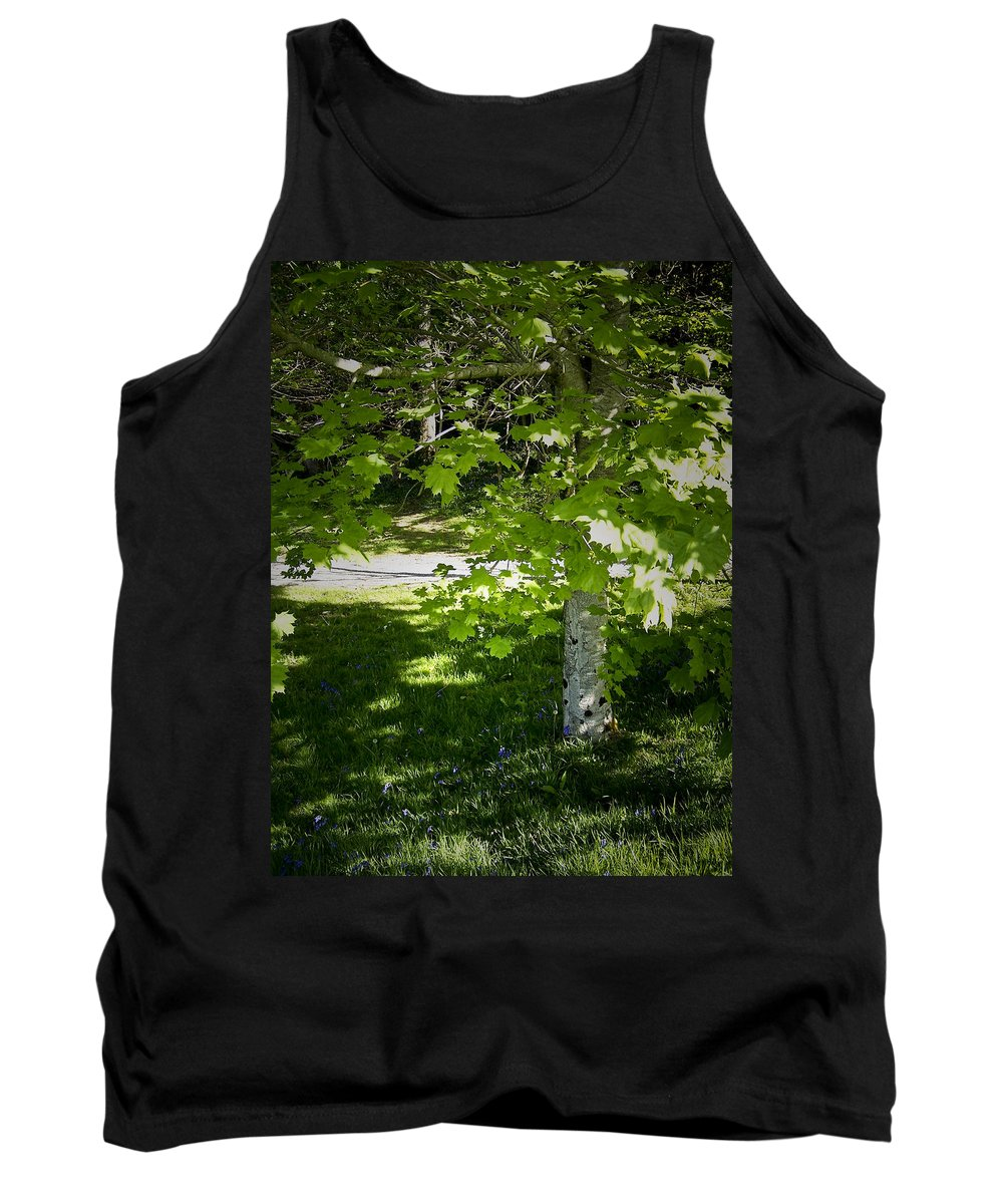 Irish Tank Top featuring the photograph Bluebells In Killarney National Park Ireland by Teresa Mucha