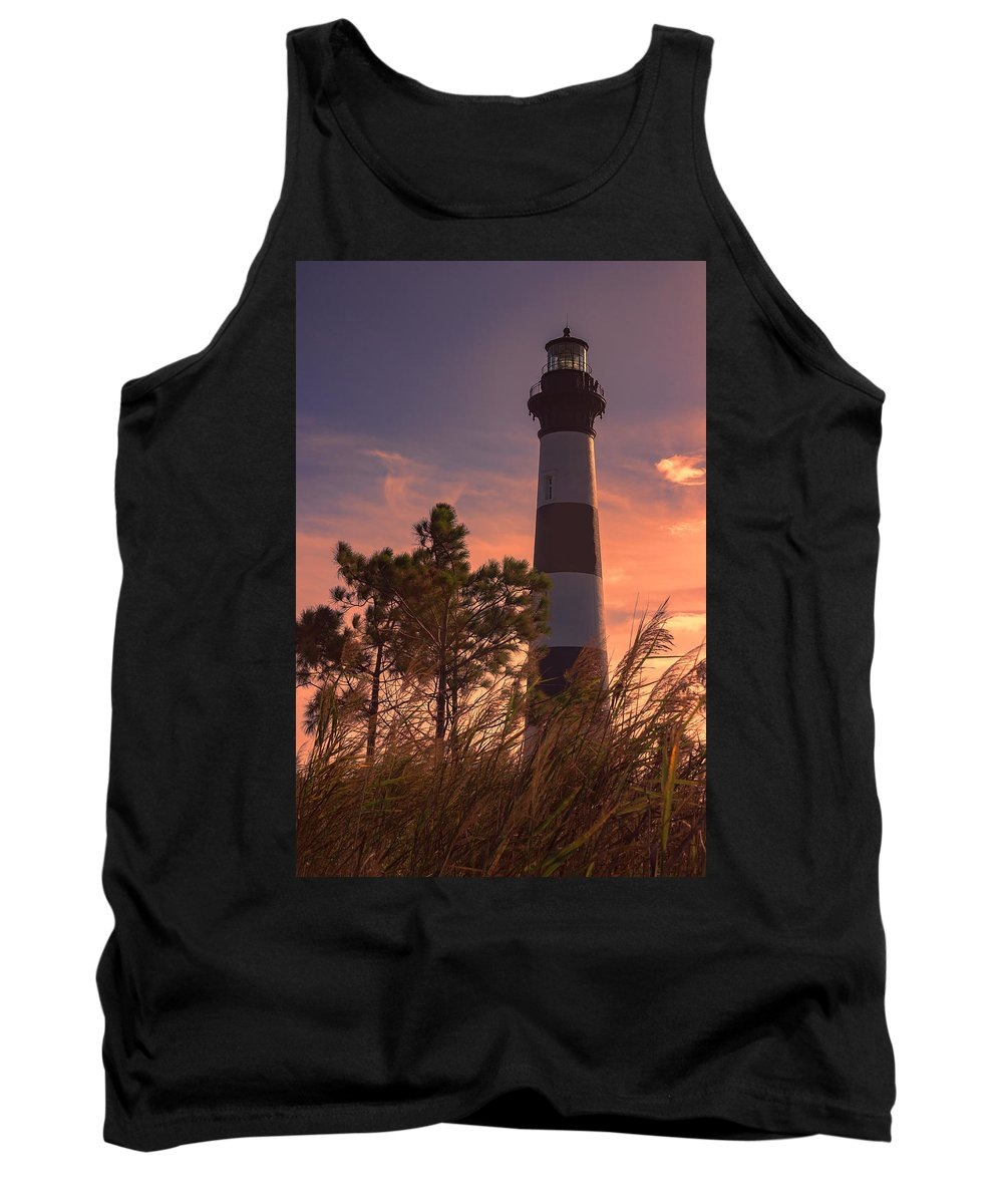 Bodie Island Lighthouse Tank Top featuring the photograph Bodie Island Lighthouse 1 by Judy Witter