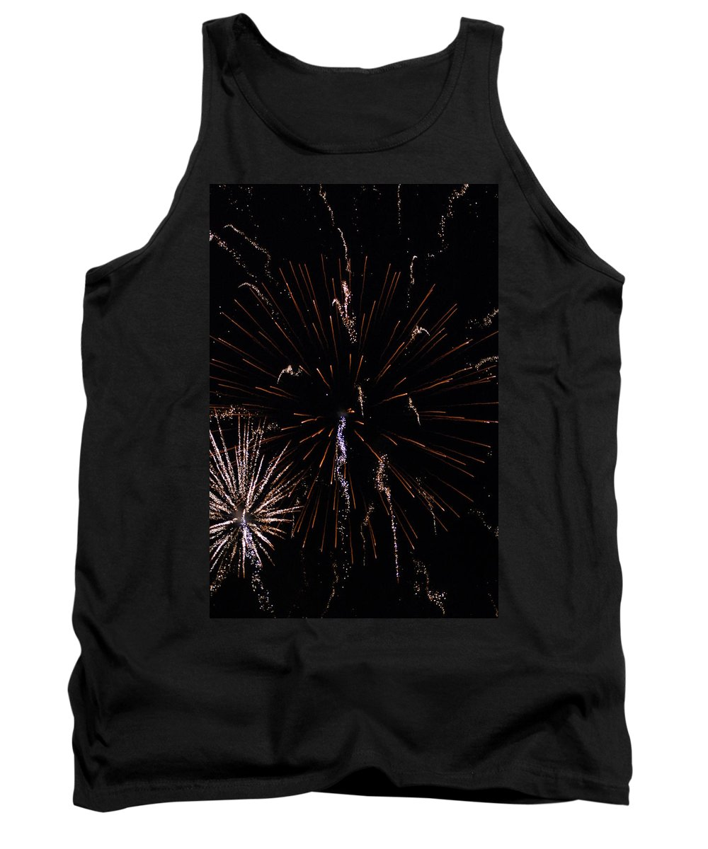 Firwworks Tank Top featuring the photograph Bombs2 by David Lane