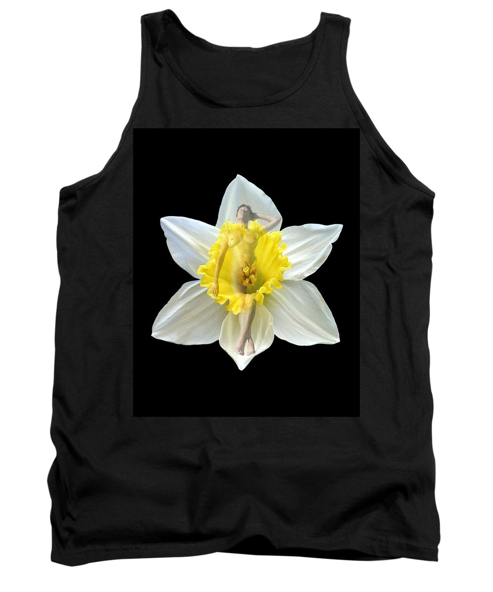 Nudes Tank Top featuring the photograph Bouquet by Kurt Van Wagner