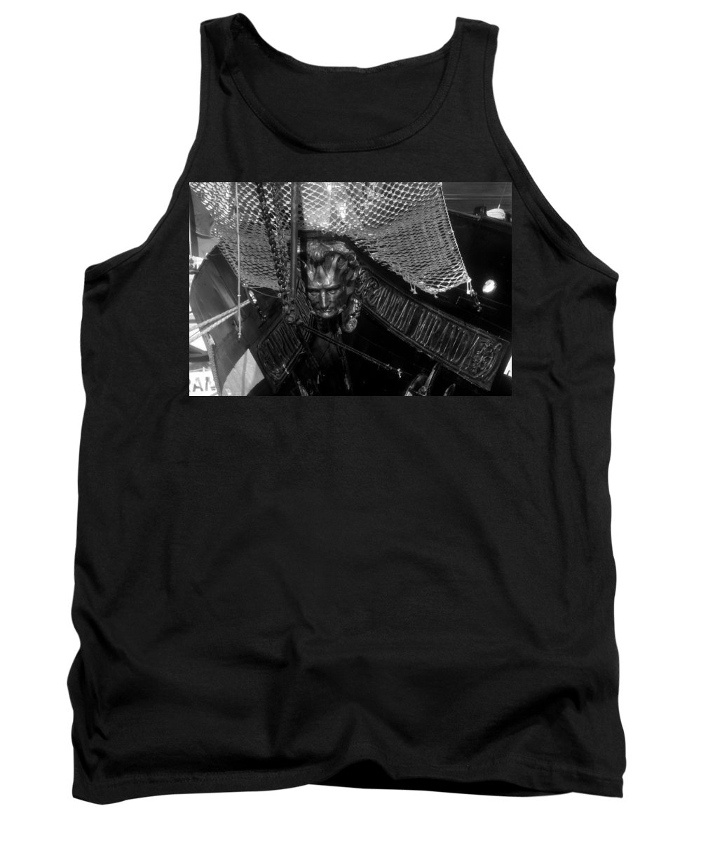 Captain Miranda Tank Top featuring the photograph Bow Of The Captain Miranda by David Lee Thompson